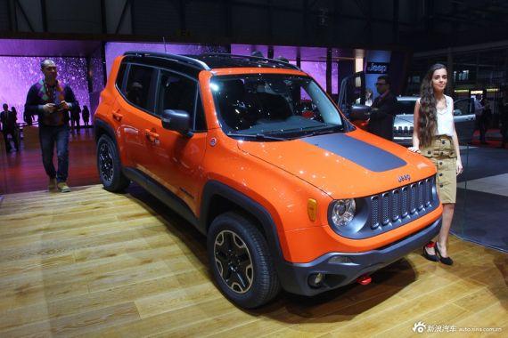 Jeep Renegade概念车