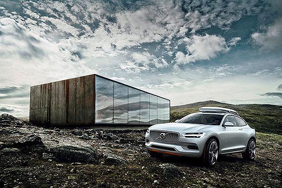 沃尔沃Concept XC Coupe北京车展首秀