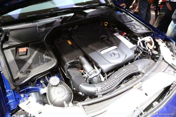 全新奔驰c级l发动机图片