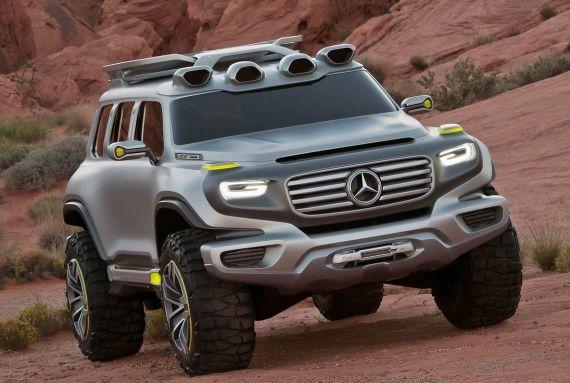 新款奔驰G级概念车