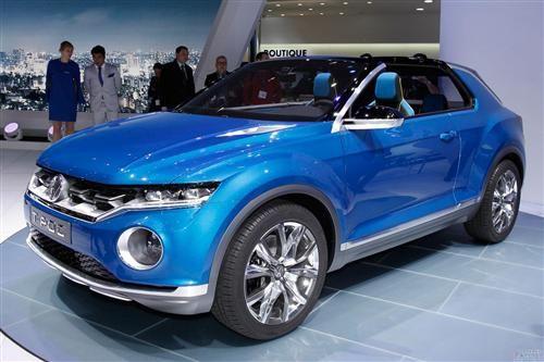 日内瓦车展上的T-Roc概念车