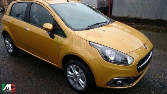 Fiat Punto Facelift Spy 01