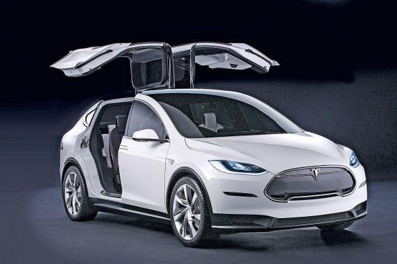 特斯拉Model 3假想图