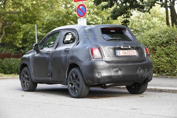 Fiat 500X Spy 03