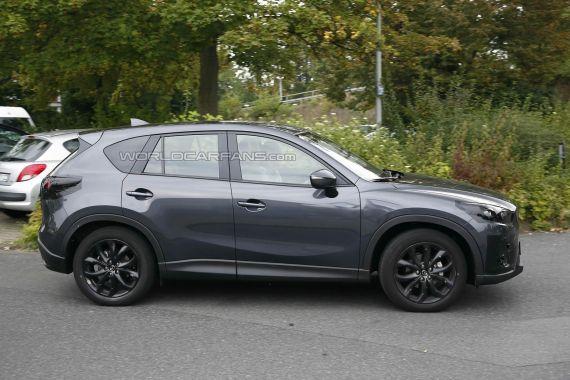 Mazda CX-5 Facelift Spy 04
