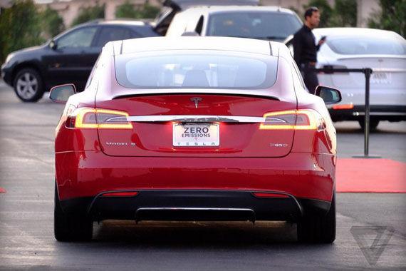 特斯拉发布Model S P85D
