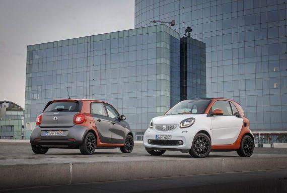新一代Smart Fortwo和Forfour