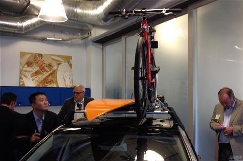 智能附件系统可以在自行车等被盗时提示车主