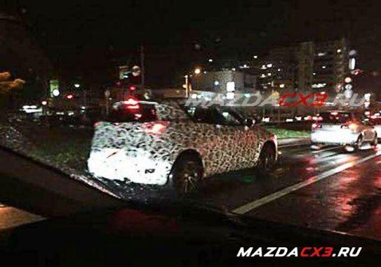 Mazda CX-3 Spy 03