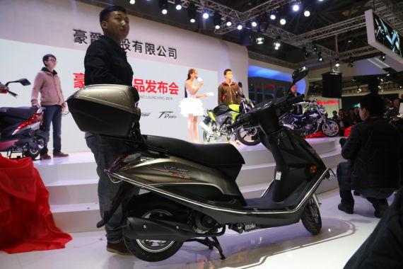第十三届重庆摩博会豪爵发布五款新车