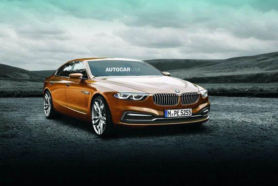 BMW 5-series想象图