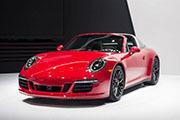 保时捷911 Targa 4 GTS北美车展首发