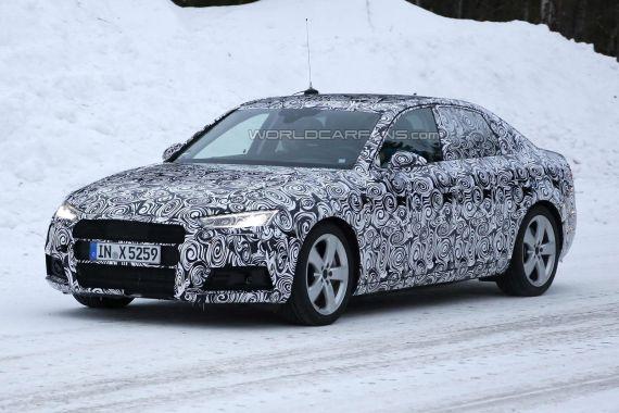 Audi A4 Spy 03