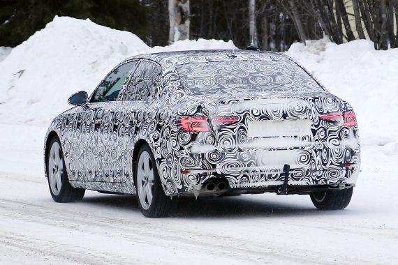 Audi A4 Spy 07