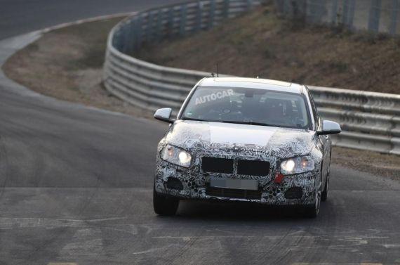 BMW 1 Series Saloon Spy 03