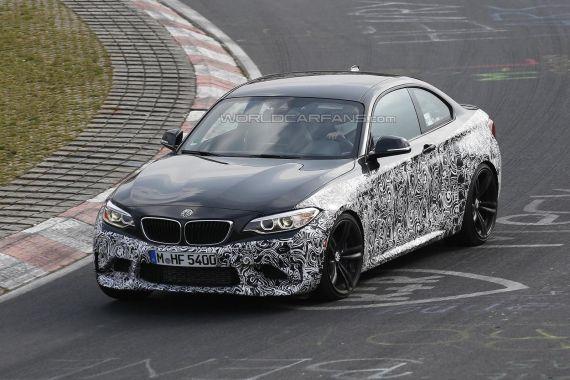 BMW M2 Coupe Spy 02