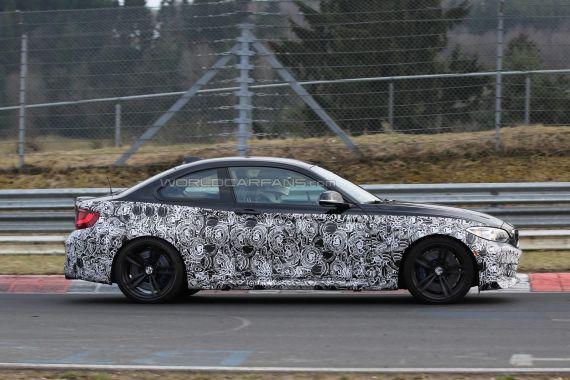 BMW M2 Coupe Spy 14