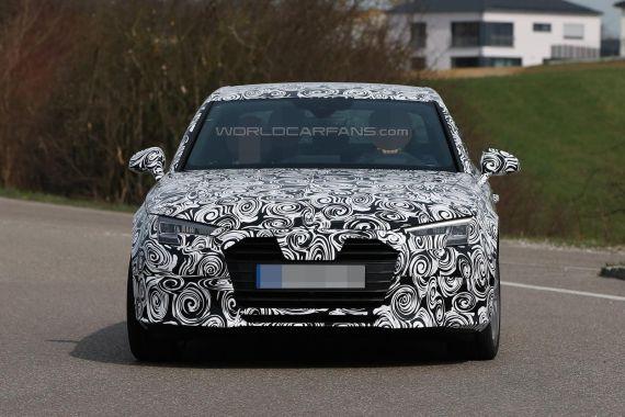 Audi A4 Spy 08