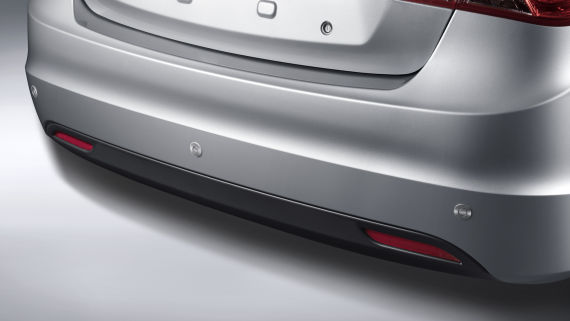 2015款海马M3倒车雷达