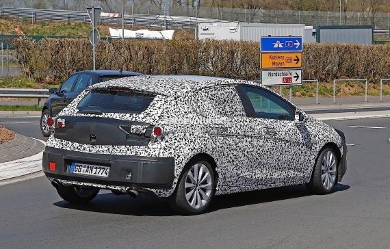 Opel Astra GSi Spy 06