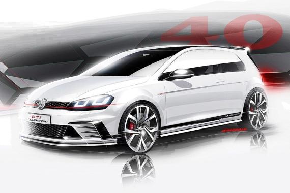 大众推出高尔夫GTI Clubsport概念车