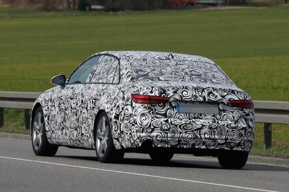 Audi A4 spy 04