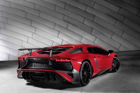 Lamborghini Aventador SV 06