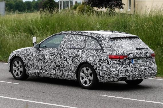 Audi A4 Avant spy 06