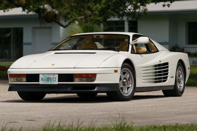 《迈阿密风云》中法拉利车型拍卖
