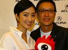 刘伟强桂纶镁与Acura,2009上海车展