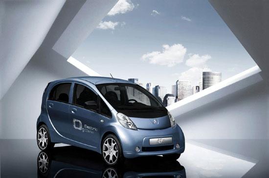 标致iOn电动汽车将亮相法兰克福车展