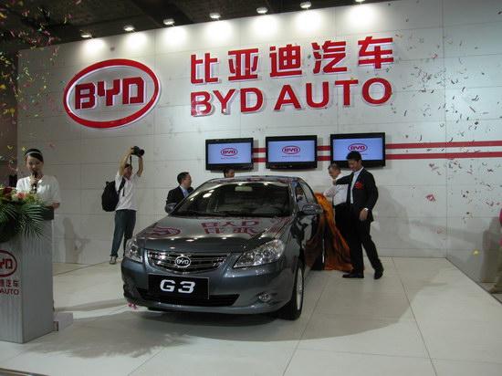 比亚迪G3搭载1.5L和1.8L发动机