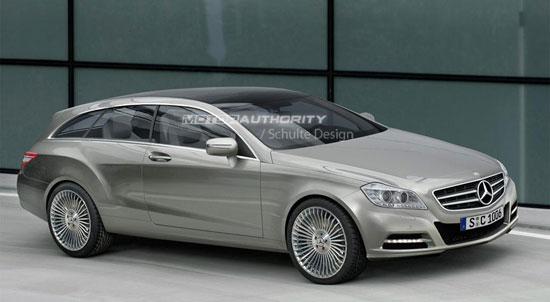 2011款奔驰CLS客货两用轿车曝光明年底上市