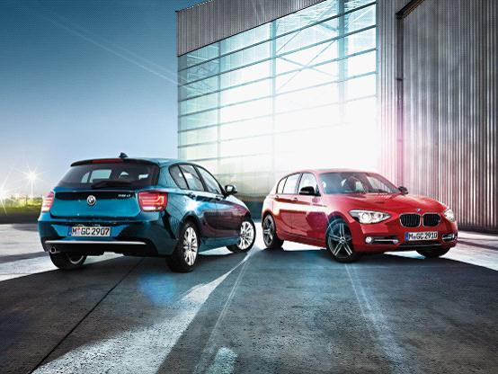 北京燕宝全新BMW 1系到店 成就唯自我风格