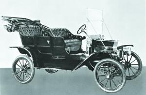 1908年款T型车