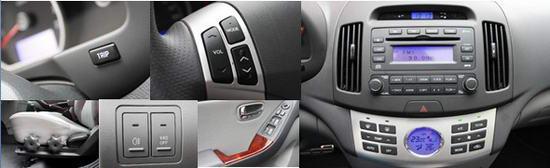 在其它配置方面,中控锁、自动空调、电动天窗、多功能方向盘、6喇叭CD音响和超速报警系统都是标准配置,而且音响的音质也好于比它更贵的新卡罗拉。这款最高配置车型的售价为12.98万元,比日系和欧系同级别车的最高配置车型要低了6万元至8万元,经过对比,我们发现这不是因为悦动有更出色的性能价格比,而且少了些同级别车上的高档配置;比如电动座椅、座椅加热系统、侧安全气囊、主动安全头枕、GPS导航、ESP电子稳定系统、蓝牙电话及定速巡航系统,加上这些配置后悦动的价格也不会是这么低了。   高配置车型就是高配置的动力