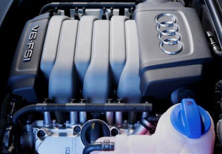奥迪A6L 2.8 FSI发动机高清图片