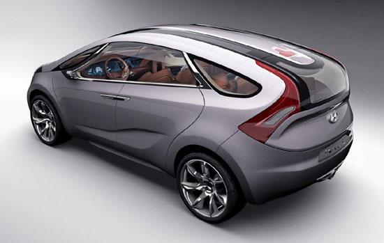 图为使用了多项材料科技的概念车i-mode