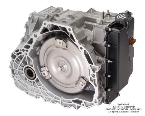 图8:与这款3.6升V6发动机相匹配的是通用全新的6T75六速自动变速器,动力配置与北美市场销售的别克昂克雷没有任何差异。