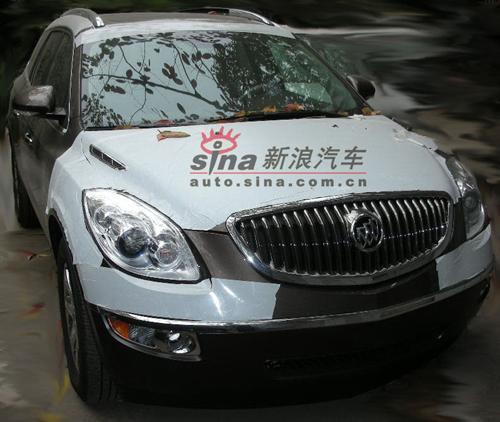 图1:近日新浪汽车获得已经整装待售的别克昂科雷谍照
