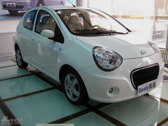 """吉利熊猫是""""全球鹰""""品牌首款车型"""