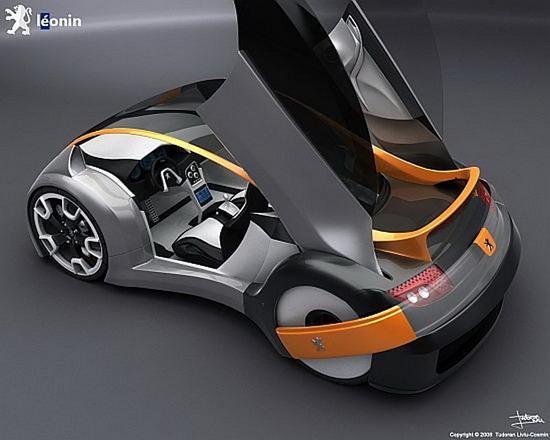图为标致新款概念车