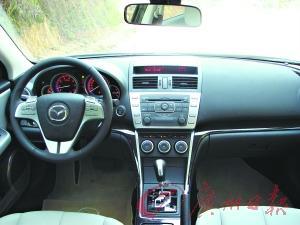 新Mazda6睿翼内饰