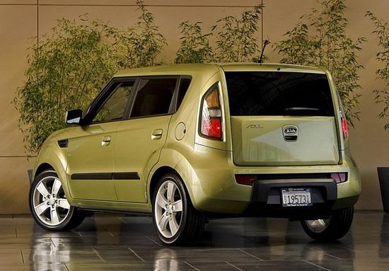 图为起亚小型CUV车型Soul