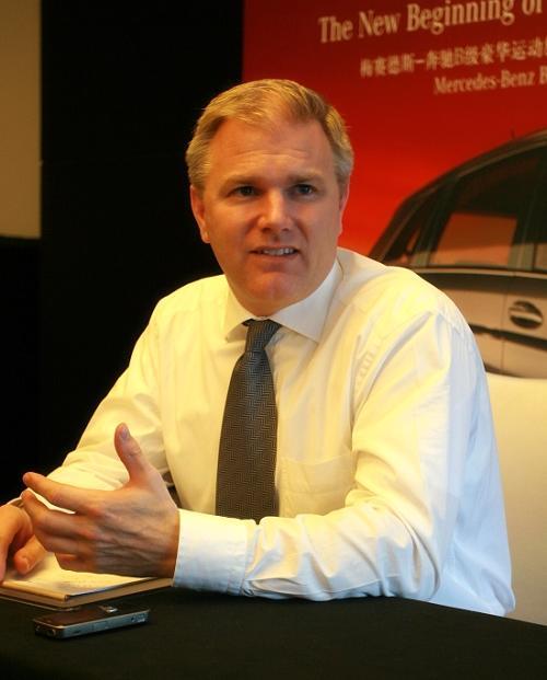 新浪汽车专访梅赛德斯-奔驰(中国)汽车销售有限公司销售及市场营销总经理Mr. Bjoern Hauber 郝博先生
