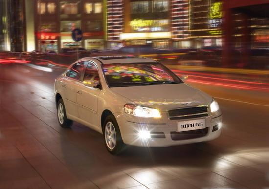 瑞麒G5车型上海车展将亮相