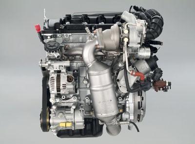 图为标致207CC上所搭配的1.6升THP发动机