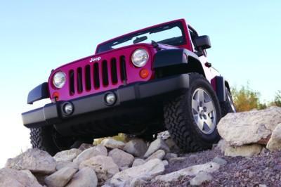 图为Jeep牧马人Rubicon(罗宾汉)