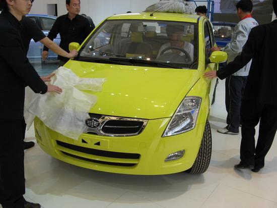 图为天津一汽X系列最新车型(原TFC-M1)