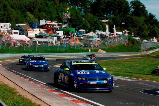 赢得SP3T级别冠军的Scirocco GT24